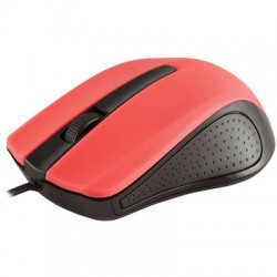 MODECOM MC-M9 BLACK-RED USB WIRED OPTICAL MOUSE