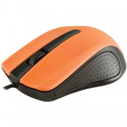 MODECOM MC-M9 BLACK-ORANGE USB WIRED OPTICAL MOUSE