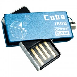 GRAM USB STICK 16GB CUBE BLUE / PD16GH2GRCUBR9