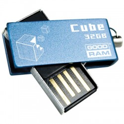 GRAM USB STICK 32GB CUBE BLUE/ PD32GH2GRCUBR9