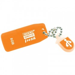 GRAM USB STICK 8GB ORANGE FRESH USB 2.0 / PD8GH2GRFOR9