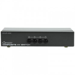 KN-AVSWITCH 10 COMPOSITE AUDIO/VIDEO SWITCH