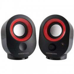 MODECOM MC-XS05 BLACK-RED SPEAKERS