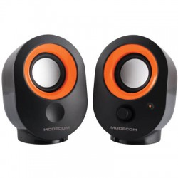MODECOM MC-XS05 BLACK-ORANGE SPEAKERS