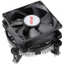 AKASA CCE-7102EP INTEL LGA 775 & 1156 COOLER WITH EBR BEARING FAN