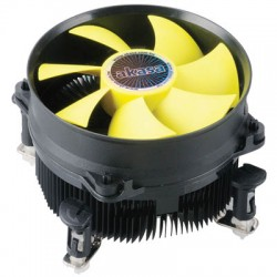AKASA AK-CC7117EP01 INTEL LGA775, 1155 & 1156 VIPER YELLOW FAN