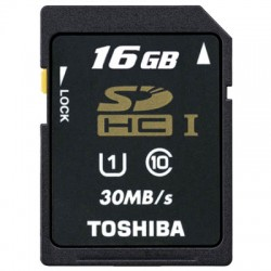 TOS SDHC 16GB CLASS 10 HS PROFESSIONAL STD UHS SD-T016UHS1