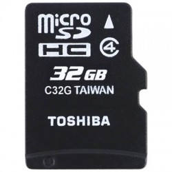 TOS MICROSD 32GB HS STANDARD WITH ADAPTER SD-C32GJ BL5A