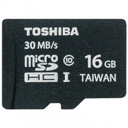 TOS MICROSD 16GB CLASS 10 HS PROFESSIONAL WITH ADAPTER SD-C016UHS1 BL5A