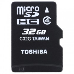 TOS MICROSD 32GB HS STANDARD WITH ADAPTER / SD-C32GJ(6A