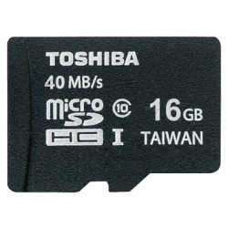 TOS MICROSD 16GB CLASS 10 HS PROFESSIONAL WITH ADAPTER / SD-C016UHS1(6A