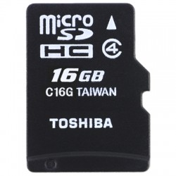 TOS MICROSD 16GB HS STANDARD WITH ADAPTER / SD-C16GJ(6A