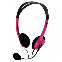 BXL-HEADSET 1 PINK STEREO HEADSET