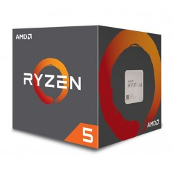 AMD CPU Ryzen 5 2600X, 3.6GHz, 6 Cores, AM4, 19MB, Wraith Spire cooler