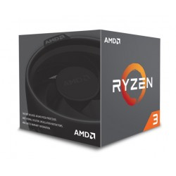 AMD CPU Ryzen 3 1300X, 3.5GHz, 4 Cores, AM4, 10MB, Wraith Stealth cooler