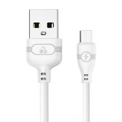 POWERTECH Καλώδιο USB σε Micro USB eco PTR-0055 copper, 1m , λευκό