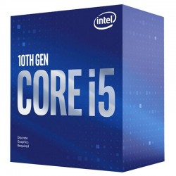 INTEL CPU Core i5-10400F, Six Core, 2.9GHz, 12MB Cache, LGA1200