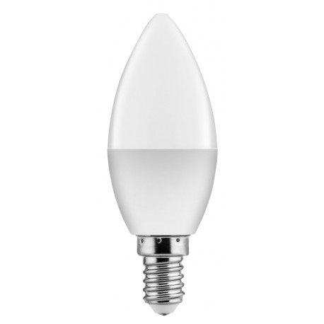 POWERTECH LED Λάμπα Candle E14-005 7W, 6500K, E14, Samsung LED, IC