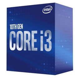 INTEL CPU Core i3-10100F, 4 Cores, 3.6GHz, 6MB Cache, LGA1200