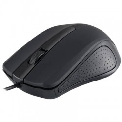 MODECOM MC-M9 BLACK USB WIRED OPTICAL MOUSE