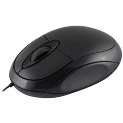 MODECOM LM-11 BLACK LOGIC WIRED MOUSE