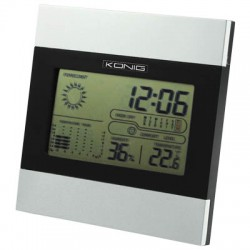 KN-WS 102 LCD CLOCK WITH DATE