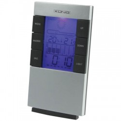 KN-WS 101 LCD CLOCK+WEATHER STATION
