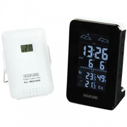 KN-WS 510 WEATHER STATION WITH RADIO AND OUTSIDE SENSOR