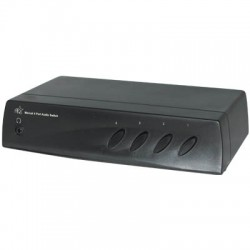 HQSW-AV 110 PORT4 AUDIO SWITCH MANUAL
