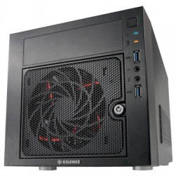 XILENCE GEH-XP-TORINO GAMING MINI ITX CASE BLACK 1x12cm LED FAN USB 3.0 HD AUDIO