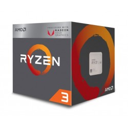 AMD CPU Ryzen 3 2200G, 3.5GHz, 4 Cores, AM4, 6MB, Radeon Vega 8 Graphics