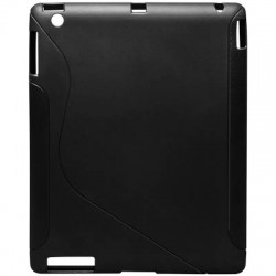 62620 CASE FOR IPAD 2 SILICON BLACK